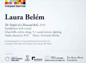 Laura Belem plaque