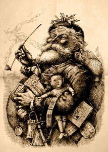 Thomas Nast's Father Christmas